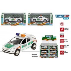 Coche metal 1:32 guardia civil colorbaby (43655)