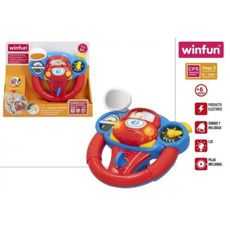 Volante luz y sonidos winfun (46514)