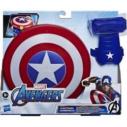 Escudo y guante Capitán América hasbro (B9944EU8)