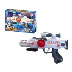Pistola batalla Space Warrior luz y sonido josbertoys (384)