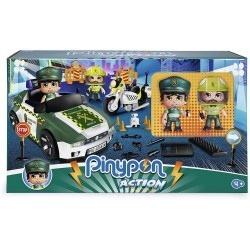 Pinypon action. Set Guardia Civil famosa (15836)