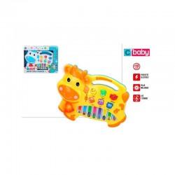 Piano eléctrico vaca colorbaby (43270)