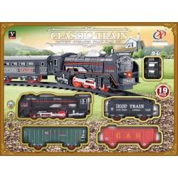 Tren clásico con pista y luz josbertoys (588)