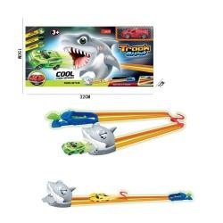 Pista lanzador dino/tiburón josbertoys (657)