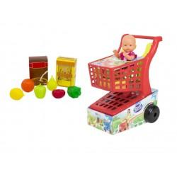 Carrito supermercado con muñeca vicam (90)