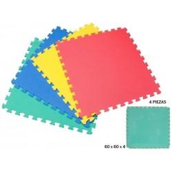 Puzzle eva 4 pcs 60x60 rama (79029)