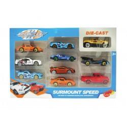 Caja 10 coches metal josbertoys (563)