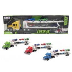 Camión portacoches F1 josbertoys (359)