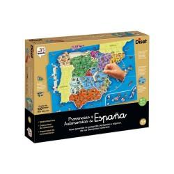 Puzzle Provincias y Autonomías de España diset (68942)