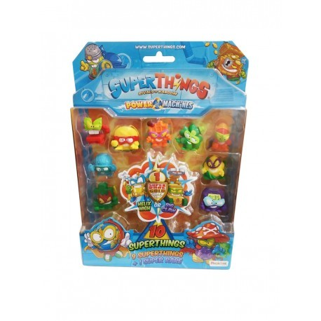 SuperThings Power Machines 10 figuras magicbox (PST7B016IN00)