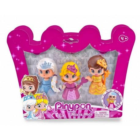 Pinypon Pack 3 princesas famosa (14094)