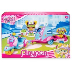 Pinypon My Puppy and me. Moto Remolque famosa (16247)
