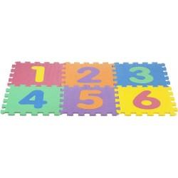 Puzzle eva 6 piezas números 32x32 colorbaby (43647)