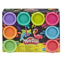 Play-Doh pack 8 botes surtido hasbro (E5044EU4)
