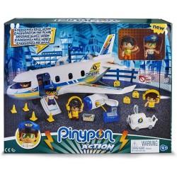 Pinypon Action. Emergencia en el avión famosa (15149)
