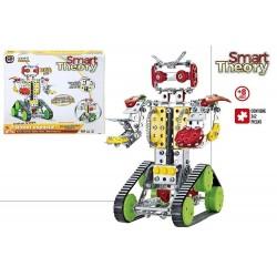 Robot metal mecano 262 pcs Theory colorbaby (49034)