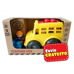 Vehículo Block Cartoon Bus