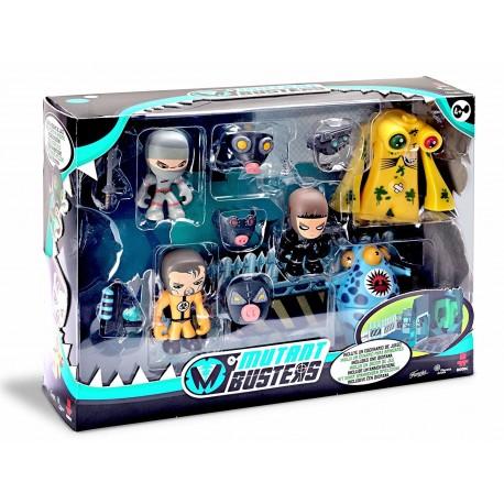 Mutant Busters - Set batalla 5 figuras