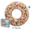 Rueda Donut Blanco