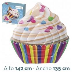 Colchoneta hinchable cupcake