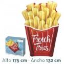 Colchoneta hinchable patatas fritas