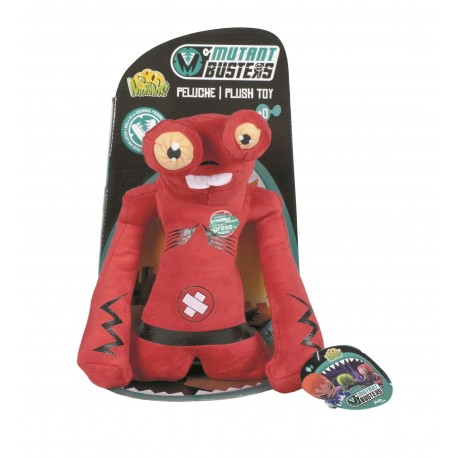 Peluche Mutant Busters 25 cm con sonido - Red