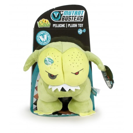 Peluche Mutant Busters 25 cm con sonido - Green