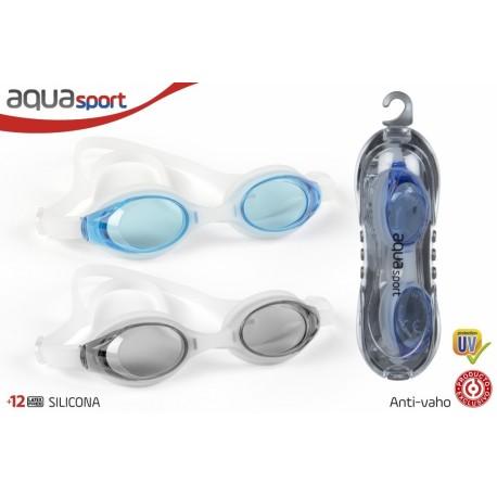 Gafas natación adulto silicona