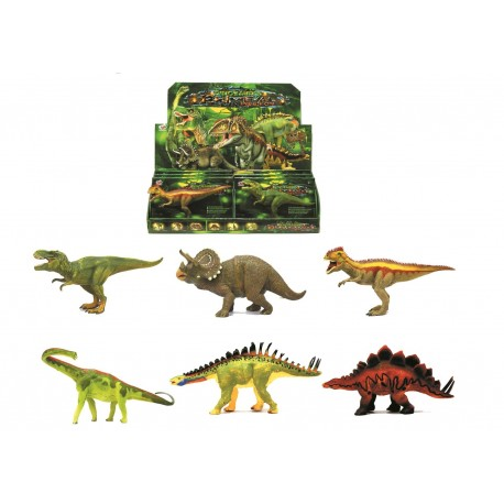 Dinosaurios 6 modelos Surtido