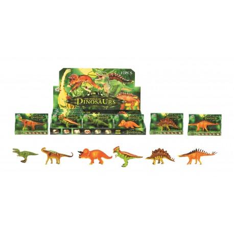Dinosaurios little 6 modelos (surtido)