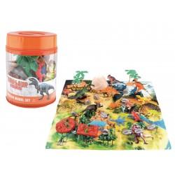 Bote dinosaurios 30 piezas