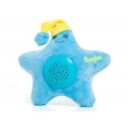 Estrella proyector musical Azul