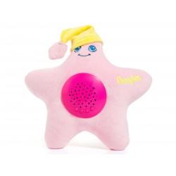 Estrella proyector musical Rosa