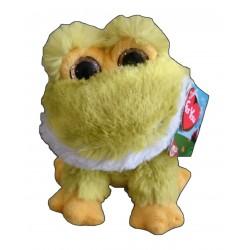 Peluche CAMO 17 cm - Rana amarilla