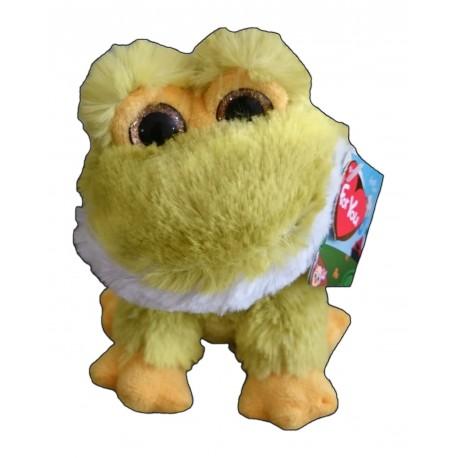 Peluche CAMO 17cm - Rana amarilla