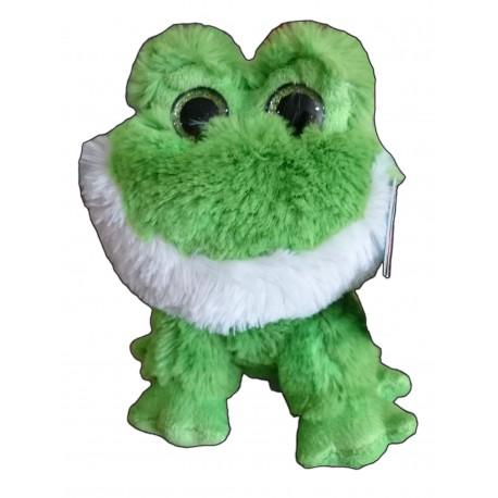 Peluche CAMO 17cm - Rana verde