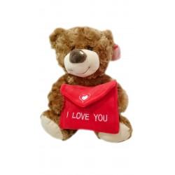 El cartero del amor marrón 26 cm famosa (14021)