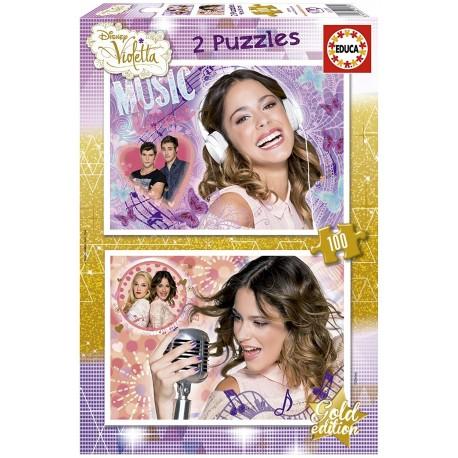 Puzzle Violetta 2x100