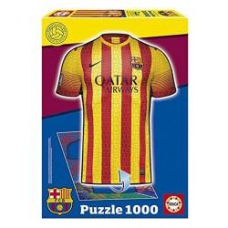 Puzzle segunda equipación FCB - 1000 pcs