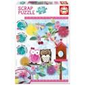 Puzzle Valentine Art Scrap - 500 pcs