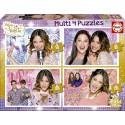 Multi 4 puzzles Violetta 50-80-100-150 pcs