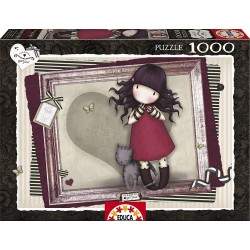 Puzzle Purrrrrfect love Gorjuss - 1000 pcs