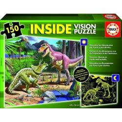 Puzzle Inside Vision Dinosaurios - 150 pcs