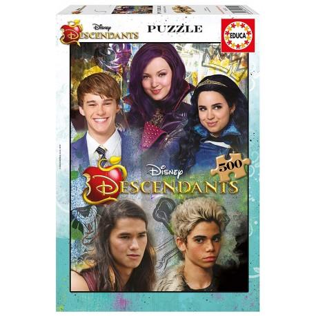 Puzzle Los Descendientes - 500 pcs
