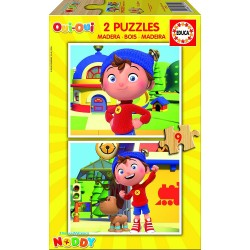 Puzzle madera Noddy - 2x9