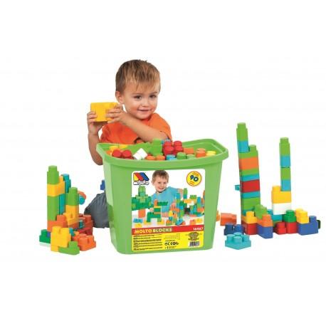 Cubeta 90 piezas - verde