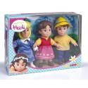 Heidi pack 3 figuras
