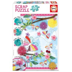 Puzzle Garden Art Scrap - 500 pcs