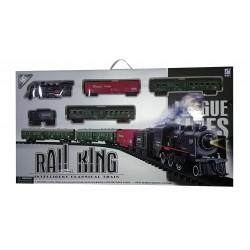 Pista de tren con luz - Rail King