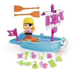 Pinypon Pirata con barca